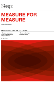 Measure for Measure Smartstudy English Text Guide
