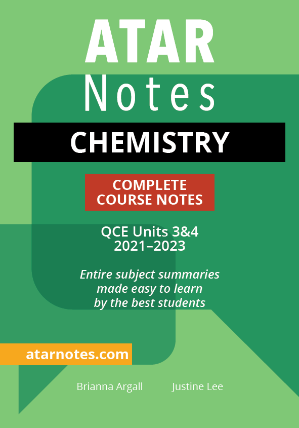 QCE Chemistry Units 3&4 Notes