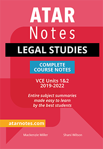 VCE Legal Studies Units 1&2 Notes