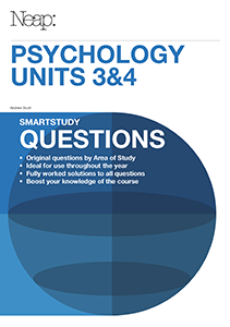 VCE Psychology Units 3&4 Smartstudy Questions